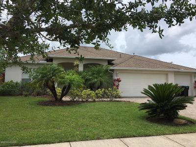 Palm Bay Single Family Home For Sale: 210 Ridgemont Circle SE