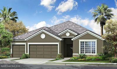 Palm Bay Single Family Home Contingent: 684 Stonebriar Drive SE