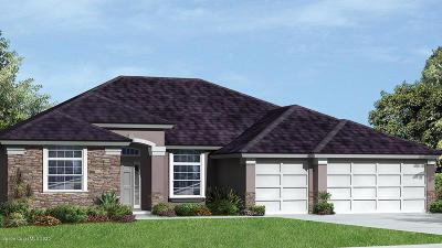 Palm Bay Single Family Home For Sale: 655 Gleneagles Drive SE