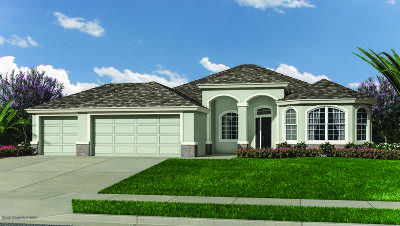 Palm Bay Single Family Home For Sale: 661 Gleneagles Drive SE