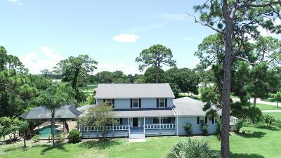 Malabar Single Family Home For Sale: 3435 Huggins Drive