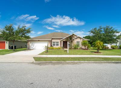 Palm Bay Single Family Home For Sale: 2012 Gloria Circle NE