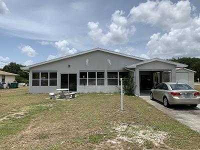 Micco Multi Family Home For Sale: 9344 Victoria Drive