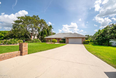 Malabar Single Family Home For Sale: 1635 Country Cove Circle