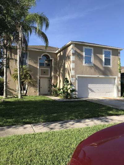 Palm Bay Single Family Home For Sale: 1760 Las Palmos Drive SW