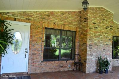 Malabar Single Family Home For Sale: 1980 Corey Road
