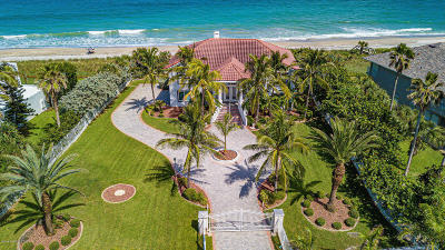 Satellite Beach Single Family Home For Sale: 1665 Highway A1a Highway