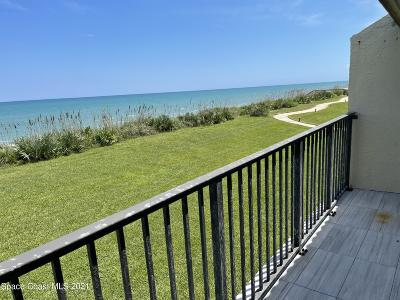 Satellite Beach Condo For Sale: 105 Highway A1a #105