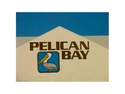 Condo/Townhouse For Sale: 6101 Pelican Bay Blvd #102