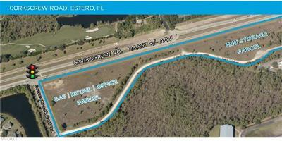 Estero Residential Lots & Land For Sale: 0000 Corkscrew Road & Stoneybrook G Dr