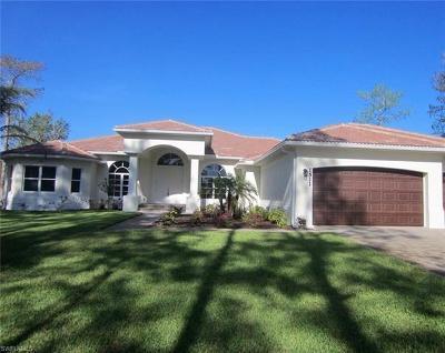 Golden Gate Estates Single Family Home For Sale: 283 SW 29th St