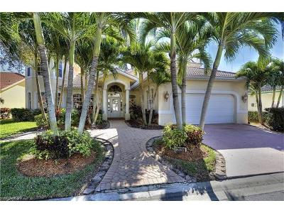 Fort Myers Single Family Home For Sale: 12830 Yacht Club Cir