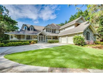 Naples Single Family Home For Sale: 6770 Daniels Rd