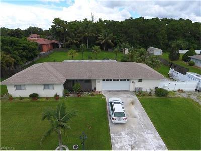 Bonita Springs Single Family Home For Sale: 3616 McComb Ln