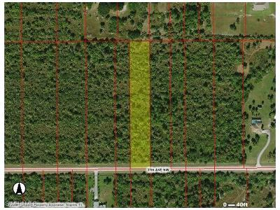Naples Residential Lots & Land For Sale: NW 37th Ave