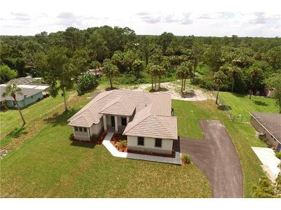 Naples Single Family Home For Sale: 1039 SW 27th St