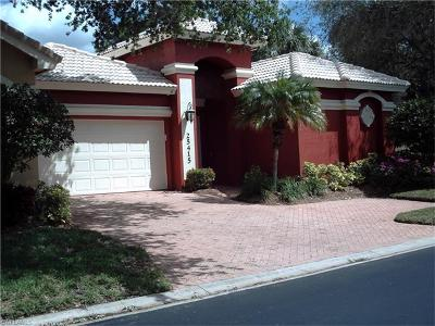 Bonita Springs Single Family Home For Sale: 25415 Alicante Dr