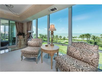 Collier County Condo/Townhouse For Sale: 3991 N Gulf Shore Blvd #204 4th