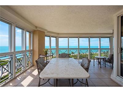 Collier County Condo/Townhouse For Sale: 4021 N Gulf Shore Blvd #801