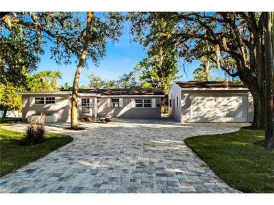 Bonita Springs Single Family Home For Sale: 27291 S Riverside Dr