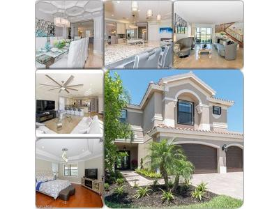 Fort Myers Single Family Home For Sale: 11696 Stonecreek Cir