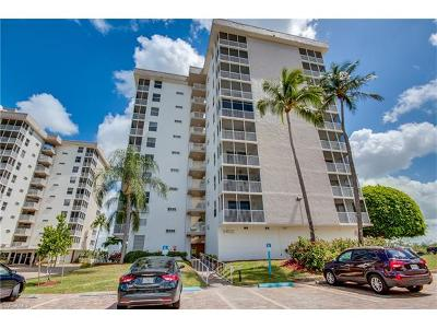 Bonita Springs Condo/Townhouse For Sale: 5600 Bonita Beach Rd #208