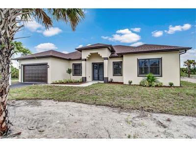 Golden Gate Estates Single Family Home For Sale: 3477 NE 8th Ave