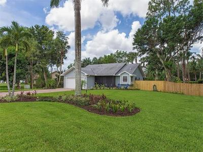 Naples Single Family Home For Sale: 6046 Hollow Dr