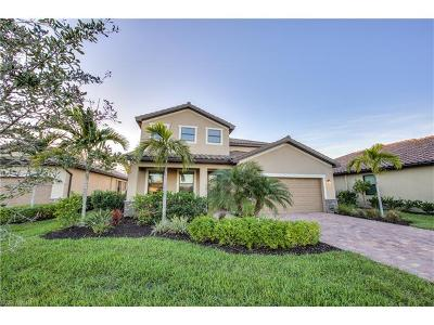 Estero Single Family Home For Sale: 20528 Black Tree Ln