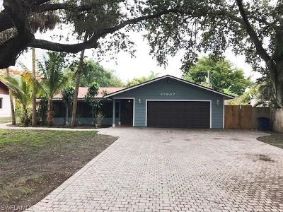 Bonita Springs Single Family Home For Sale: 27907 Matheson Ave