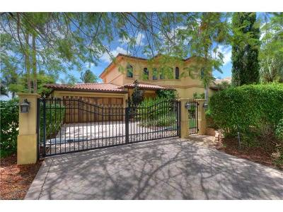 Fort Myers Single Family Home For Sale: 3954 W Riverside Dr