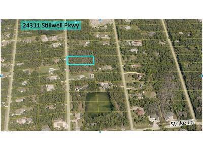 Bonita Springs Residential Lots & Land For Sale: 24311 Stillwell Pky