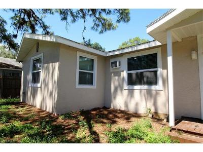 Fort Myers Single Family Home For Sale: 3209 Broadway