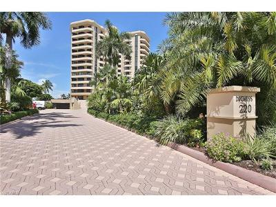 Marco Island Condo/Townhouse For Sale: 220 S Collier Blvd #705