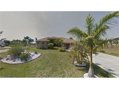 Cape Coral Single Family Home For Sale: 1900 NW 32nd Ct