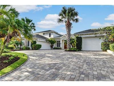 Naples Single Family Home For Sale: 650 Fountainhead Ln