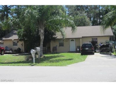 Fort Myers Multi Family Home For Sale: 19109/011 Tangerine Rd