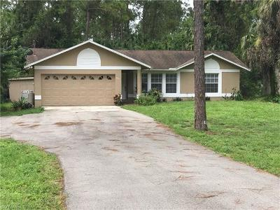Naples Single Family Home For Sale: 560 NW 16th Ave