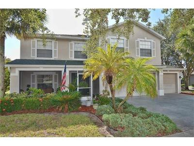Fort Myers Single Family Home For Sale: 17351 Stepping Stone Dr