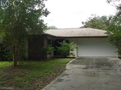 Fort Myers Single Family Home For Sale: 4500 Buckingham Rd