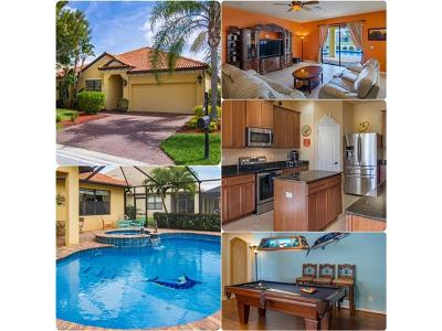 Fort Myers Single Family Home For Sale: 12477 Country Day Cir