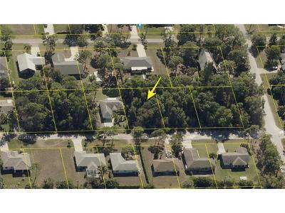 Bonita Springs Residential Lots & Land For Sale: 4575 Catalina Ln