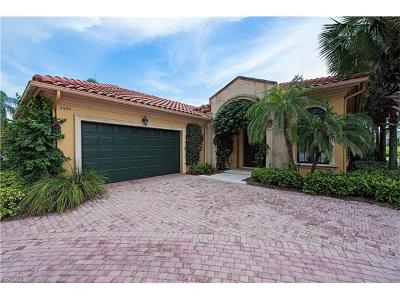 Naples Single Family Home For Sale: 2599 Twinflower Ln