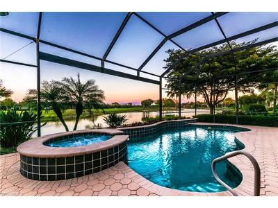 Estero Single Family Home For Sale: 22340 Banyan Hideaway Dr