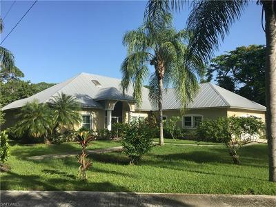 Bonita Springs Single Family Home For Sale: 851 E Lakeview Dr
