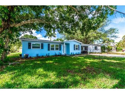 Fort Myers Single Family Home For Sale: 1626 S Grace Ave