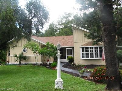 Naples Single Family Home For Sale: 4290 NW 1st Ave