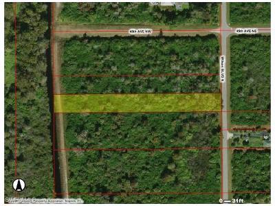 Naples Residential Lots & Land For Sale: Xxxx Wilson Blvd N