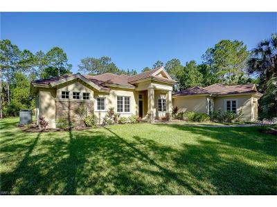 Naples Single Family Home For Sale: 5225 Mahogany Ridge Dr