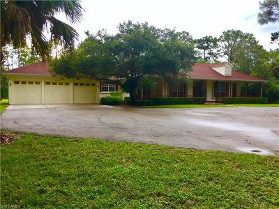 Naples Single Family Home For Sale: 1495 SW 23rd St